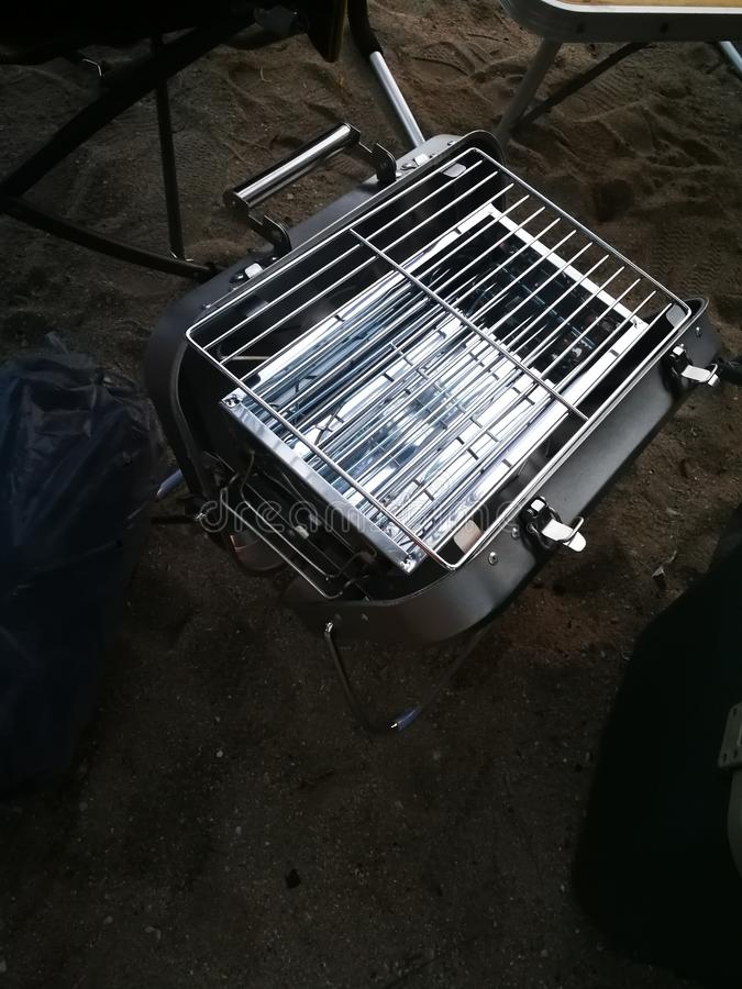 Othe Barbecue Stainless stove stock photos