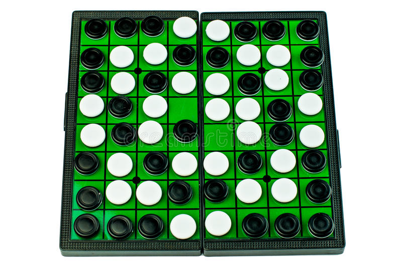 Othello Board Game Isolated lizenzfreies stockbild