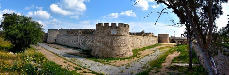 Othello Castle in Famagusta royalty-vrije stock foto's