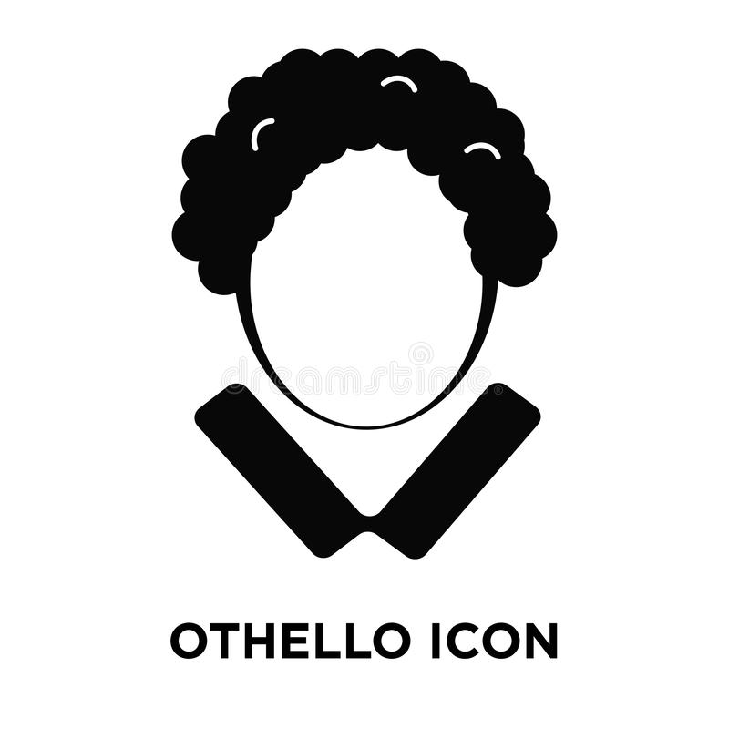 Othello icon vector isolated on white background, logo concept o royalty free illustration