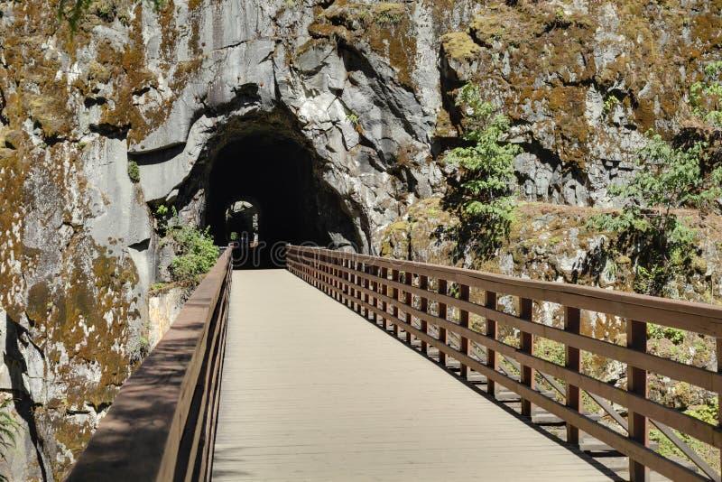 Othello tunele, kolumbiowie brytyjska zdjęcia stock