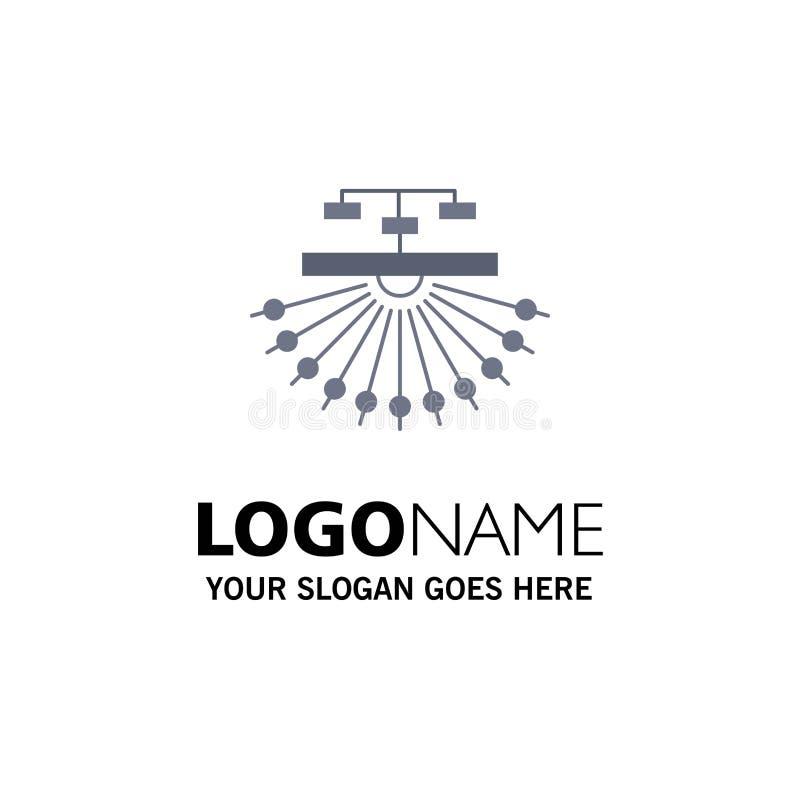 otimização, local, local, estrutura, vetor liso do ícone da cor da Web ilustração royalty free