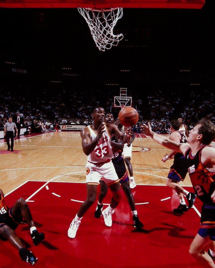 Otis Thorpe, Houston Rockets photo stock