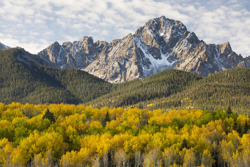 Otoño de Colorado fotografía de archivo