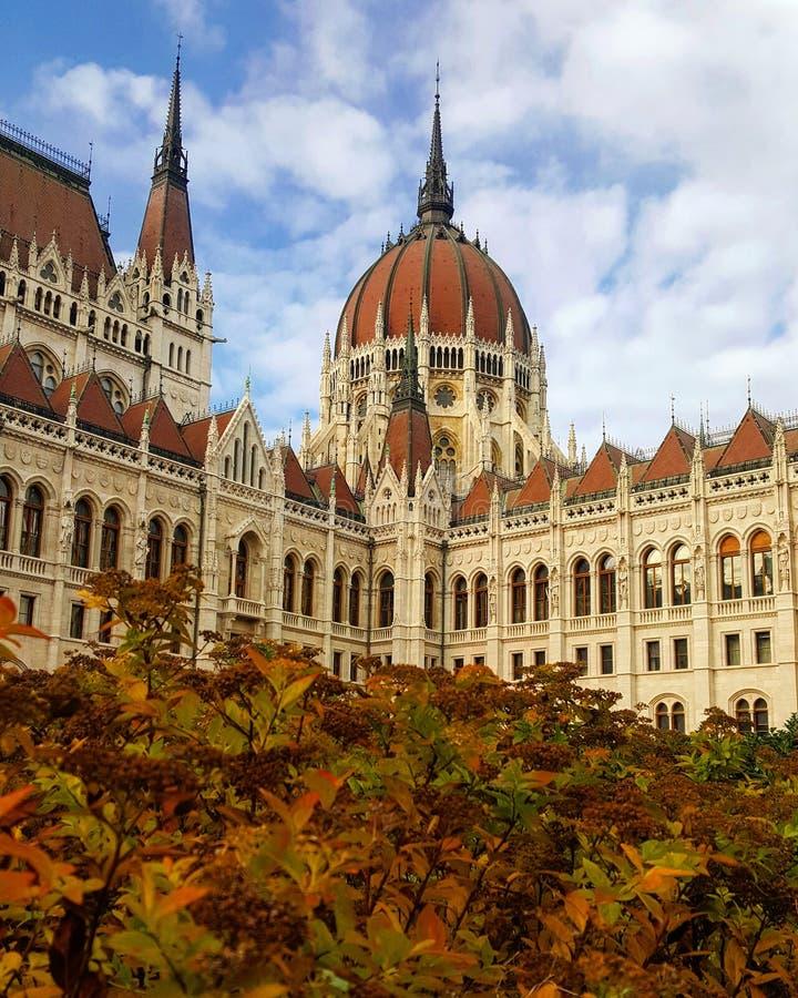 Otoño en Budapest imagenes de archivo