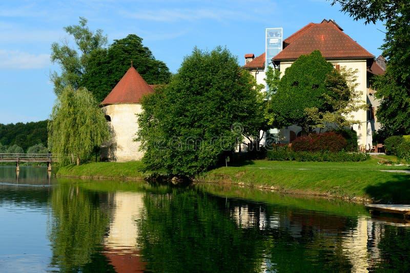 Otocec, Eslovenia imágenes de archivo libres de regalías