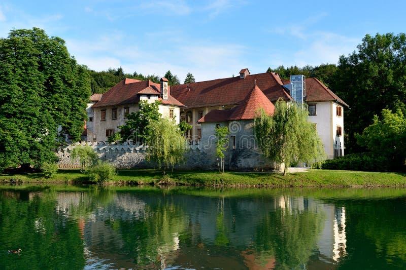 Otocec-Schloss stockfotos