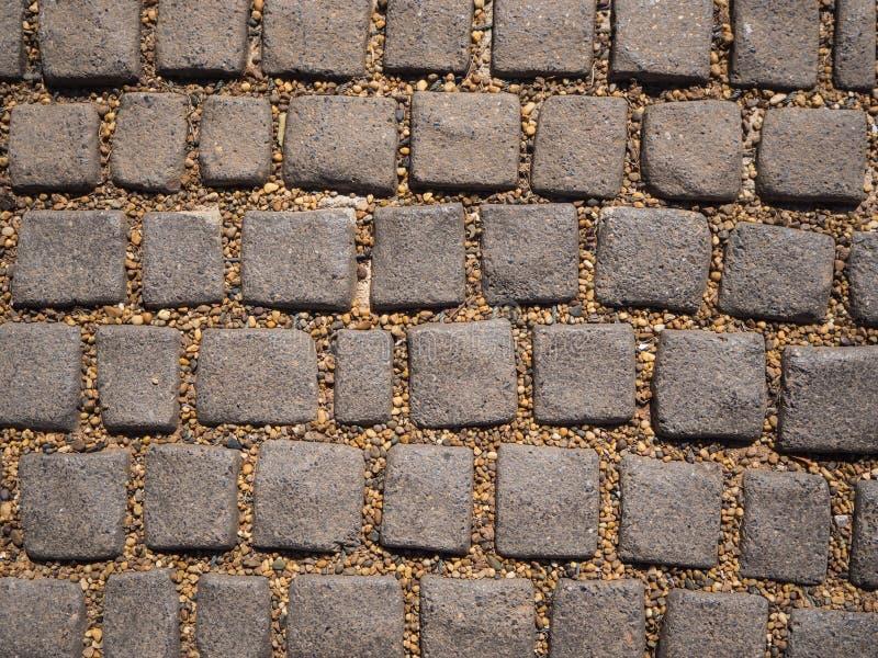 Otoczaka i kamienia tekstury tło obraz stock