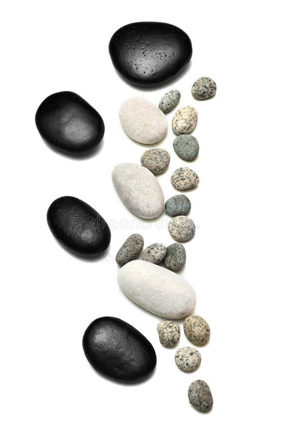 Otoczaka kamień lub Zen kamień fotografia royalty free