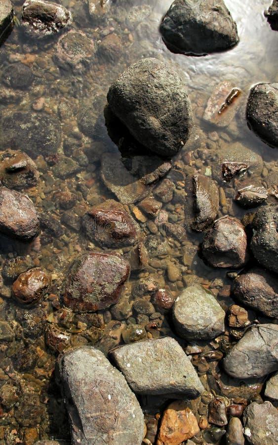 Otoczaki i skały obraz stock
