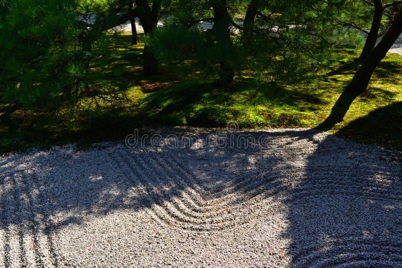 Otoczaki w japończyka ogródzie, Kyoto Japonia fotografia royalty free