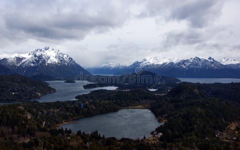 Otoczenie Bariloche Park Narodowy Nahuel Huapi zdjęcia royalty free