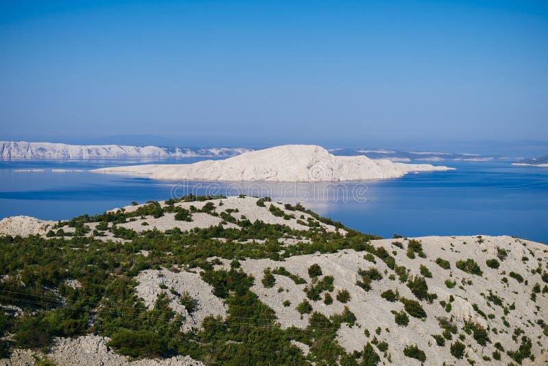 Otok di Goli - isola nuda fotografie stock