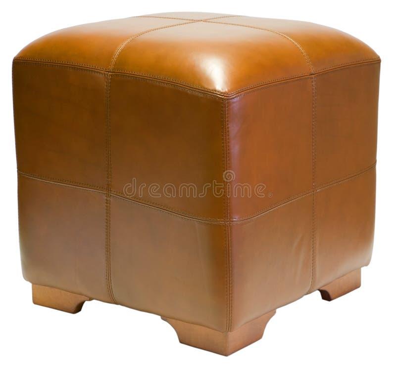 Otomano do cubo fotografia de stock
