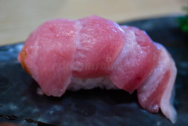 Otoro寿司 免版税库存图片