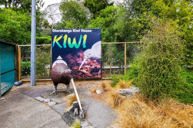 Otorohanga Kiwi House lizenzfreie stockbilder