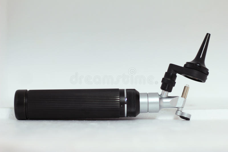 Otoscope stock photography