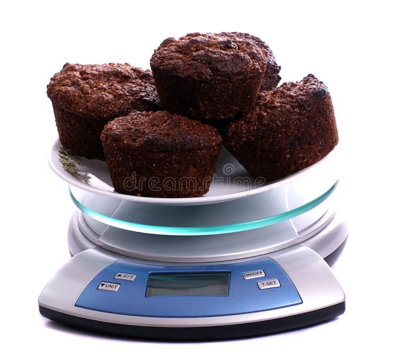 otrębiaści muffins obrazy stock