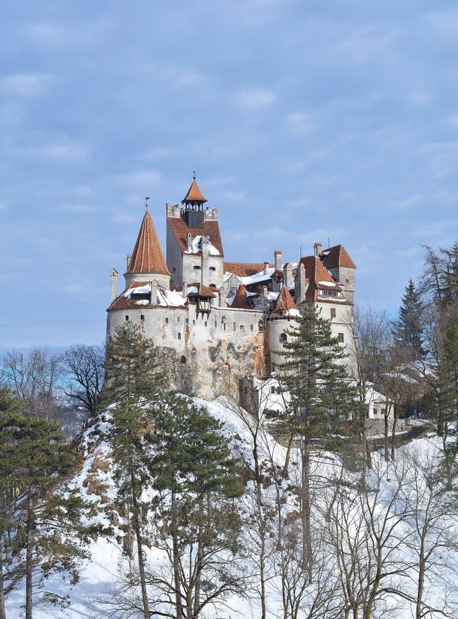 Otręby kasztel - Dracula ` s kasztel fotografia royalty free