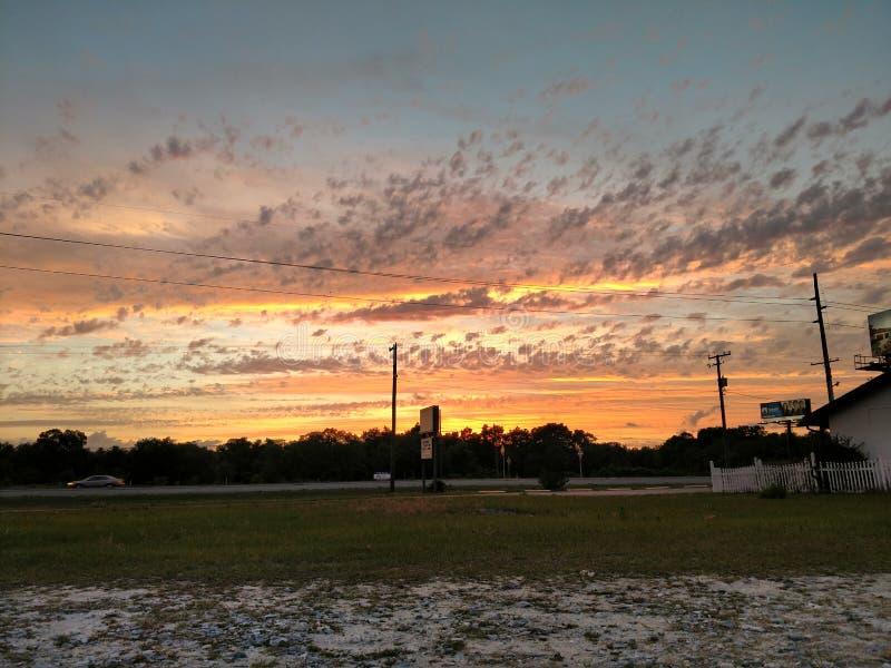 Otra puesta del sol hermosa fotografía de archivo libre de regalías
