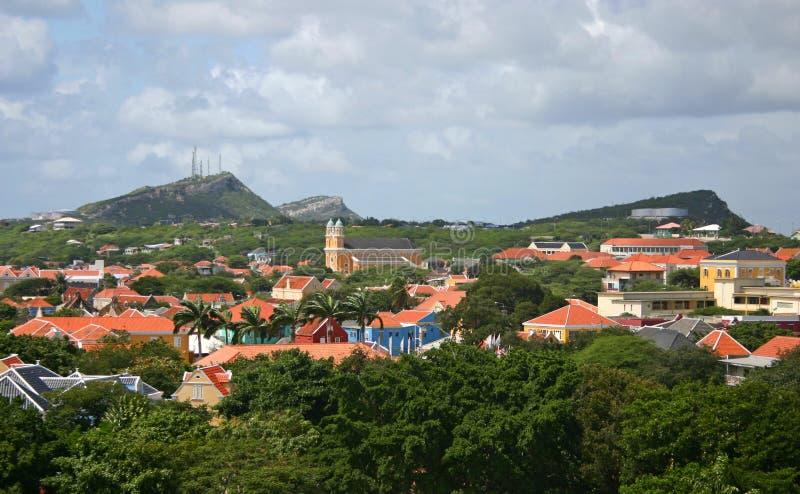 Otrabanda, Curacao stock afbeeldingen