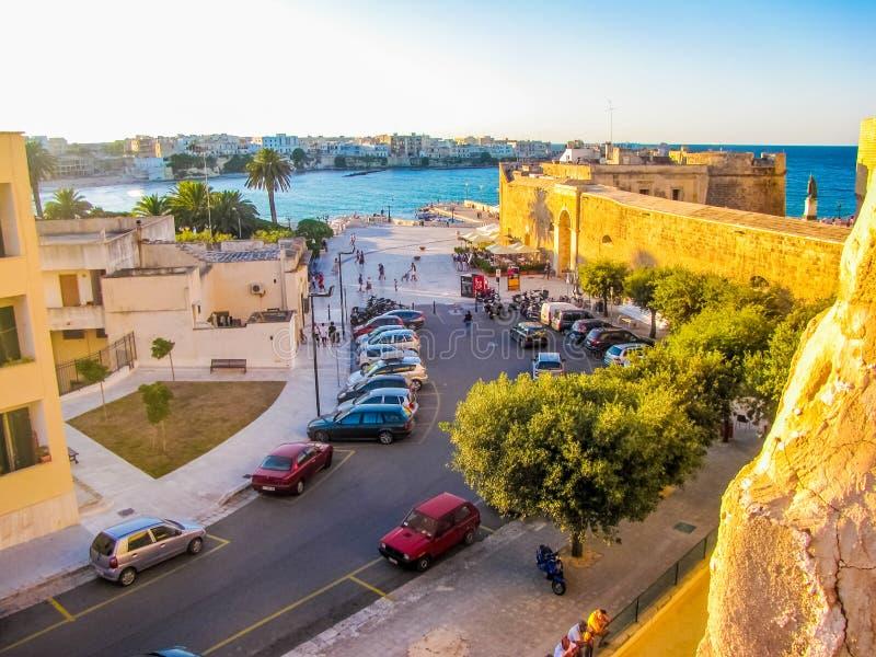 Otranto, Apulia, Salento, południowy Włochy zdjęcie stock