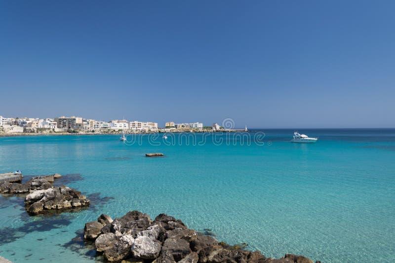 Otranto morze zdjęcia stock