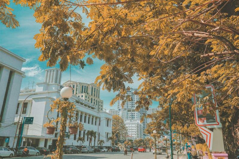 Otro lado de la ciudad fotos de archivo libres de regalías