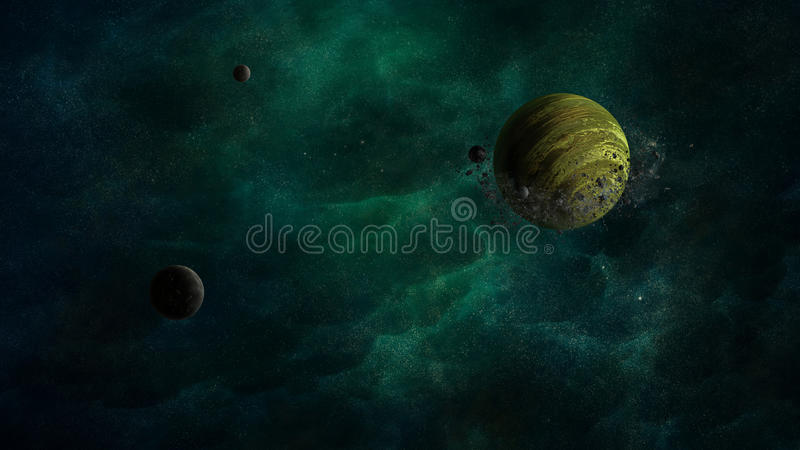 Otro universo stock de ilustración