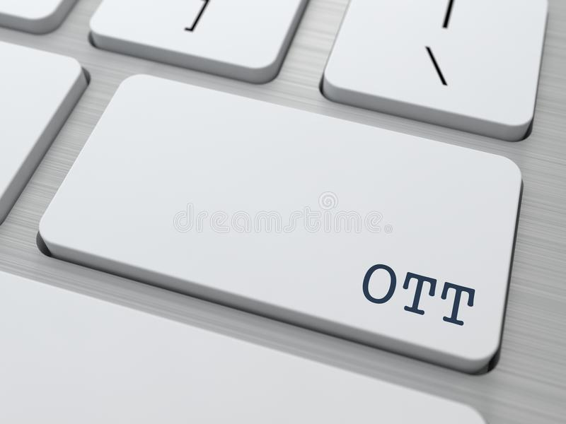 OTT.  Information Technology Concept. Stock Image