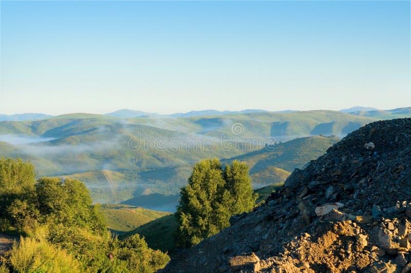 Otta i bergen av den östliga Kasakhstan royaltyfria foton