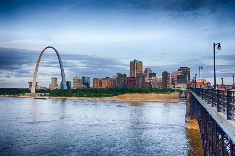 OttaCityscape av St Louis s arkivbilder