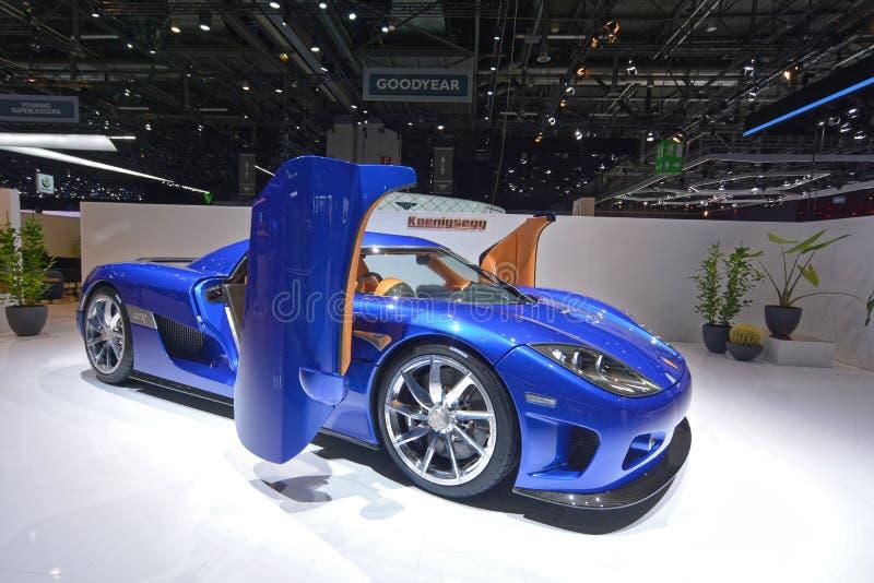 ottantottesimo salone dell'automobile internazionale di Ginevra 2018 - Koenigsegg CCX fotografia stock