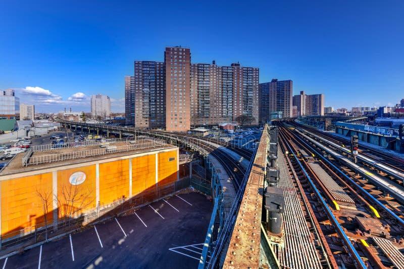 Ottava stazione della metropolitana ad ovest della via - New York fotografie stock libere da diritti