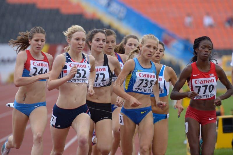 ottavi campionati della gioventù del mondo di IAAF fotografia stock libera da diritti