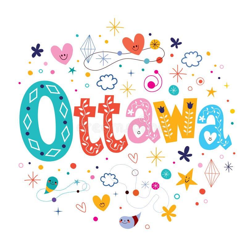 ottawa royalty-vrije illustratie