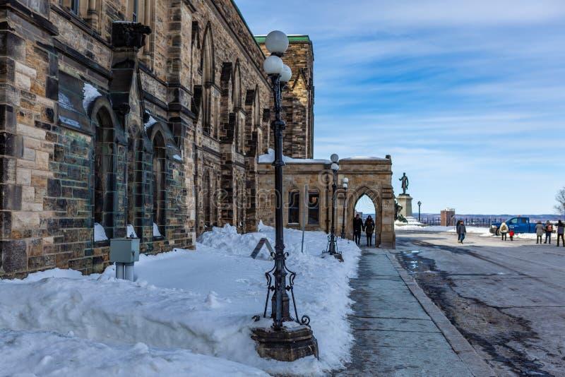 Ottawa CANADA - February 17, 2019: Federal Parliament Building of Canada in Ottawa, North America stock image