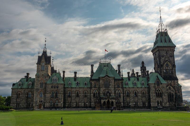 Ottawa : Colline du Parlement photo libre de droits