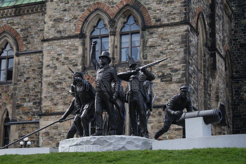 Ottawa e seu parlamento imagem de stock royalty free