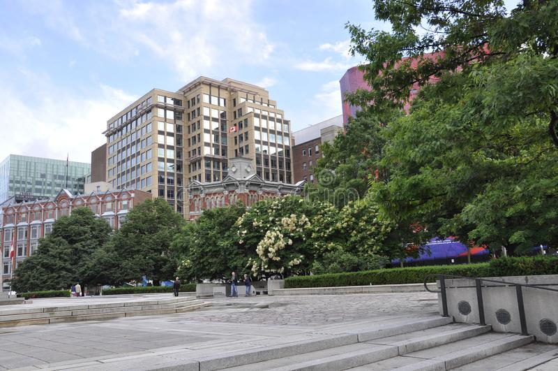 Ottawa, am 26. Juni: Bündnis-Park vom Stadtzentrum von Ottawa in Kanada stockfoto