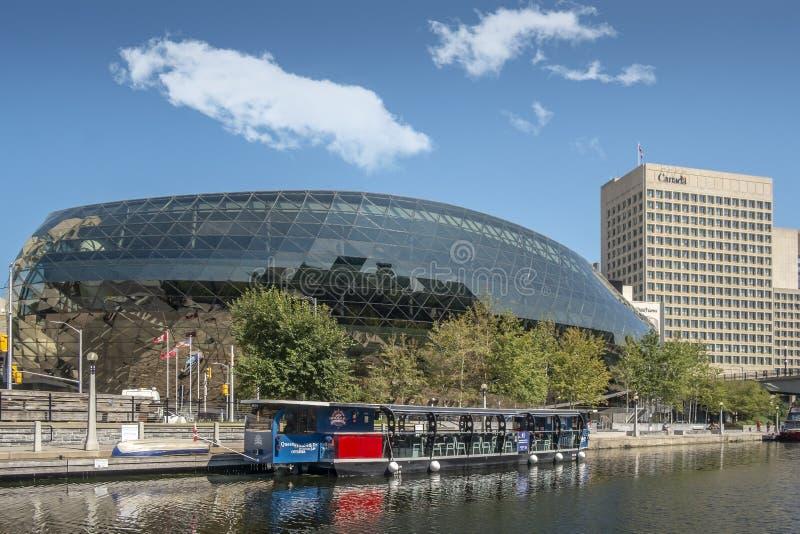 Ottawa konferensmitt royaltyfria foton