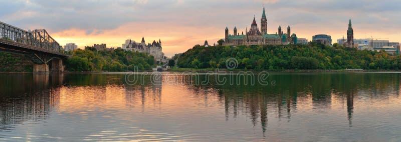 Ottawa-Morgen stockfotos