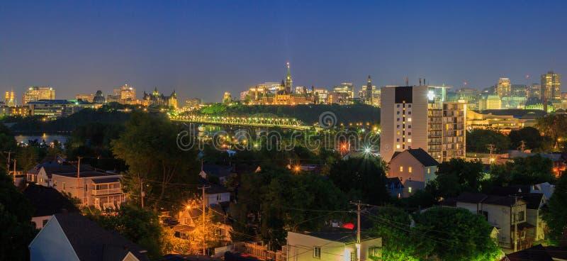 Ottawa noc obrazy royalty free