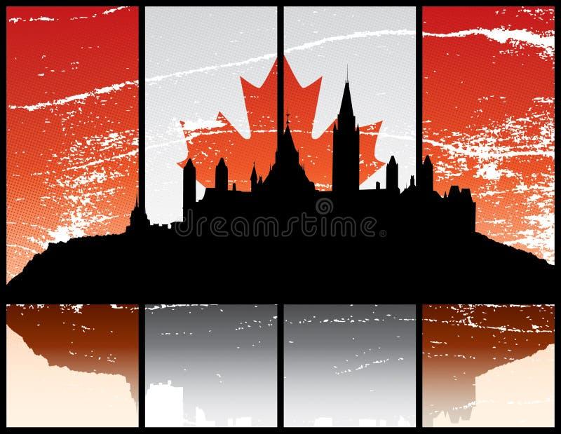 Ottawa Ontário ilustração royalty free
