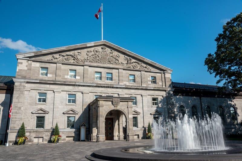 Ottawa: Regulatorer parkerar royaltyfria bilder