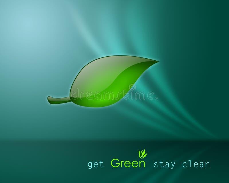Ottenga il soggiorno verde pulito illustrazione di stock for Verde soggiorno