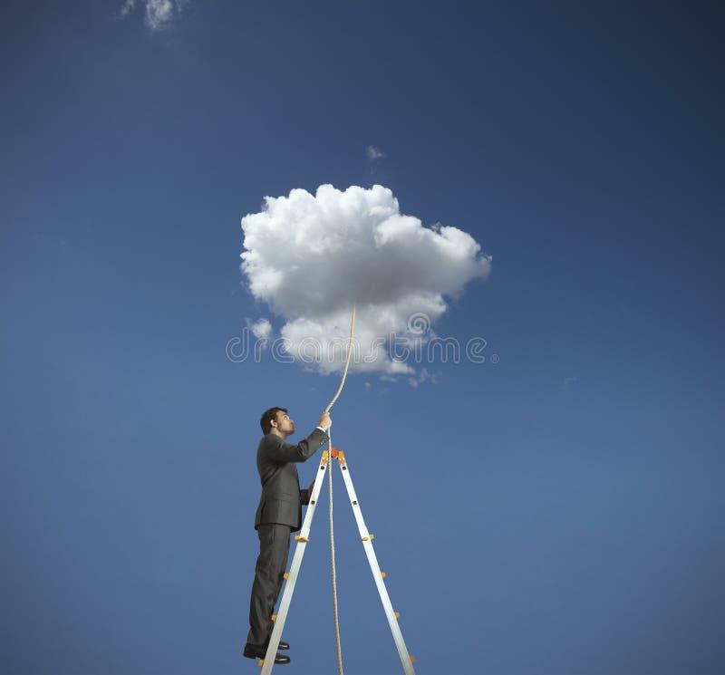 Ottenga un sogno fotografie stock libere da diritti