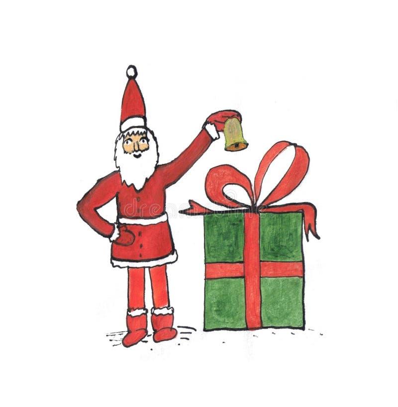 Otterrete il regalo immagini stock
