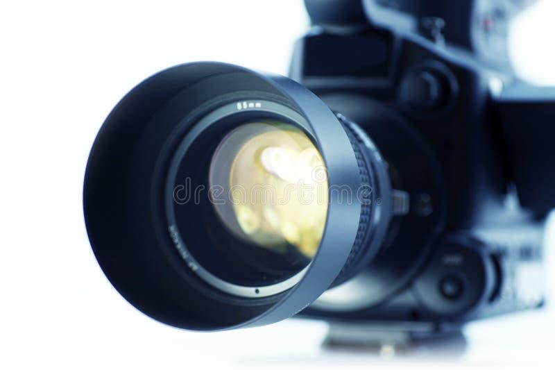 Ottica dell'obiettivo di macchina fotografica fotografia stock
