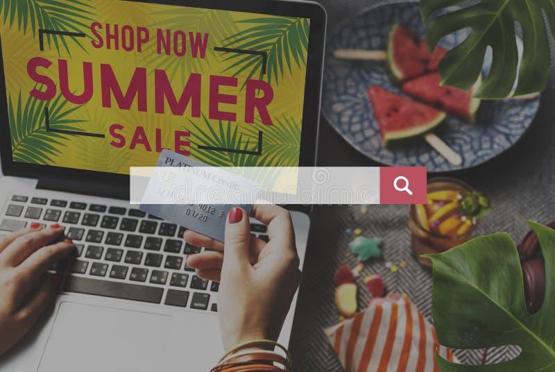 Ottimizzazione del motore di ricerca che cerca concetto della pagina Web fotografia stock